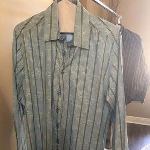 Robert Graham Long Sleeve Shirt..size XL Classic